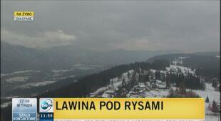 Lawina zeszła w Tatrach