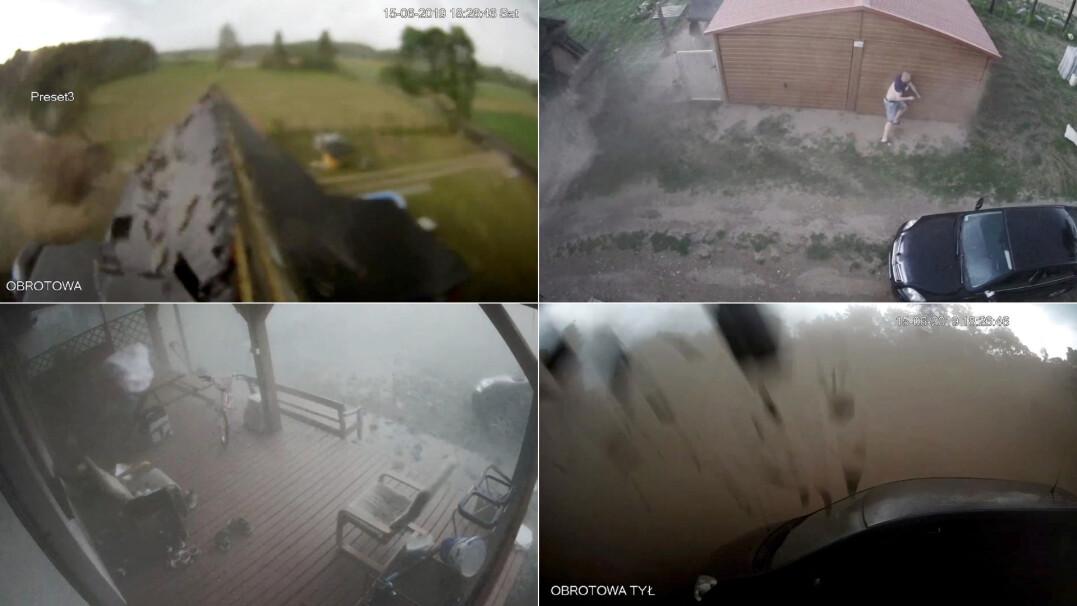 Nawałnica niszczy gospodarstwo pod Szczecinem