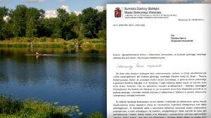 Budowa gazociągu na Białołęce. Burmistrz chce 5 tys. nowych drzew