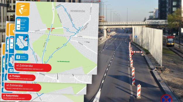 Weekendowe zmiany na drogach: kilka ulic zamkną, kilka otworzą