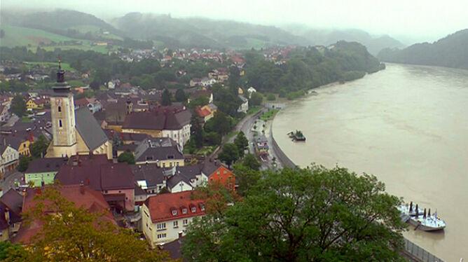 Miasto, które przed wodą schowało się za płotem