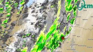 Śledź wędrówkę burz w najbliższych dniach