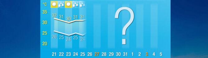 Pogoda na 16 dni: nadal gorąco, ale w sierpniu nastąpią zmiany