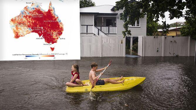 """""""Powódź stulecia"""" i żar, przez który płonie busz. Australia w pułapce pogody"""