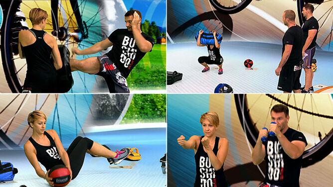 Połącz trening ogólnorozwojowy z elementami sztuk walki
