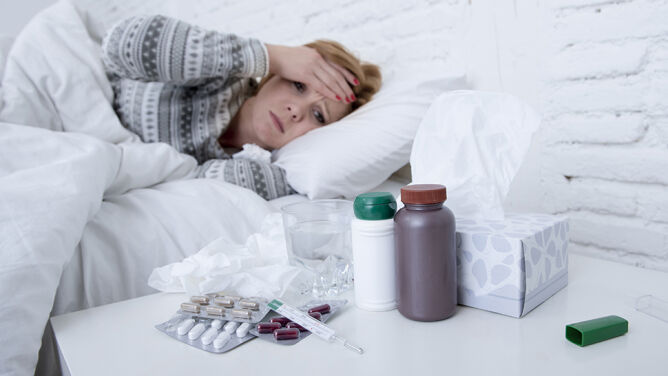 Sezon grypowy w pełni. Osłabienie, <br />ból głowy i gorączka to dopiero początek