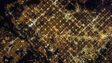 Rozświetlone Phoenix z pokładu ISS