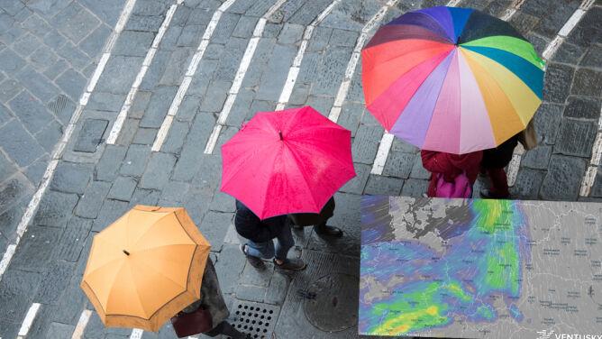Pogoda na 5 dni: idzie duża zmiana pogody. Będzie padać i wiać