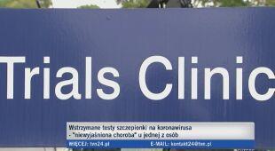Ernest Kuchar o wstrzymanych testach nad szczepionką